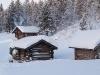 Eine Hütte zum Wärmen